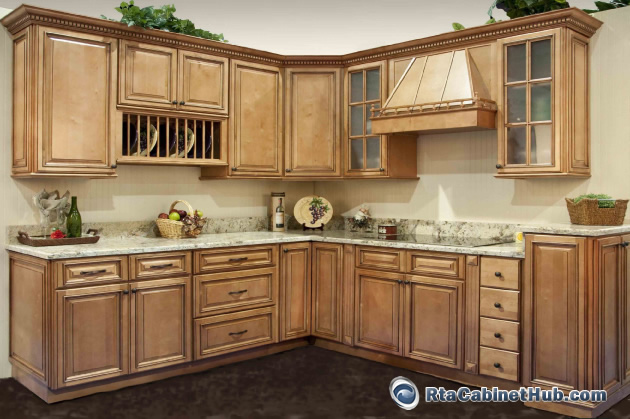 Cinnamon Stain Color http://www.rtacabinethub.com/ready-to-assemble-kitchen/savannah.html