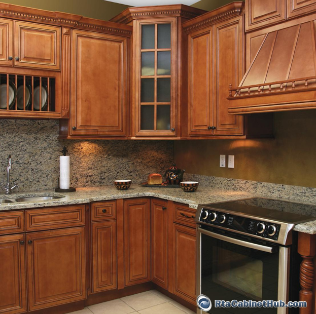 new yorker ready to assemble kitchen cabinets copper caramel
