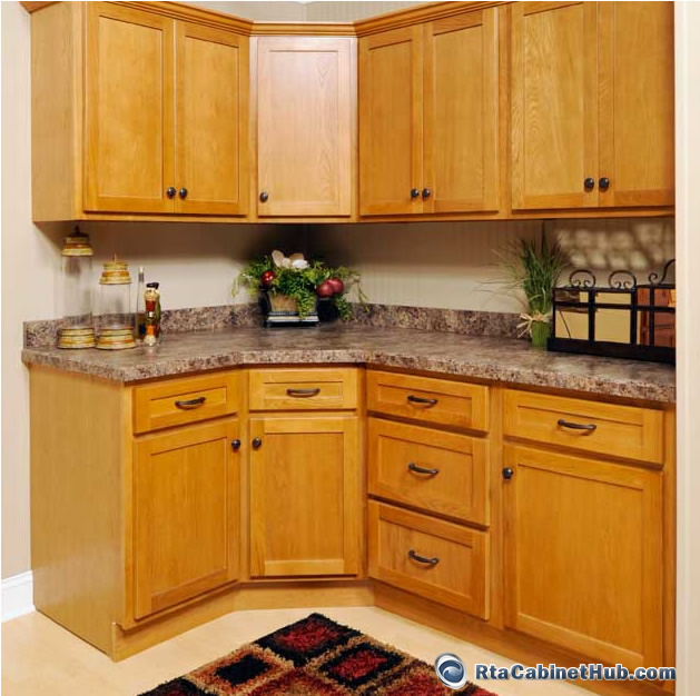 RTA Kitchen Cabinets Oak Shaker RTA Cabinet Hub