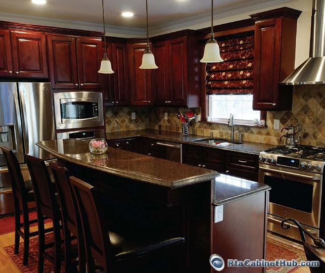Kitchen Cabinet Granite