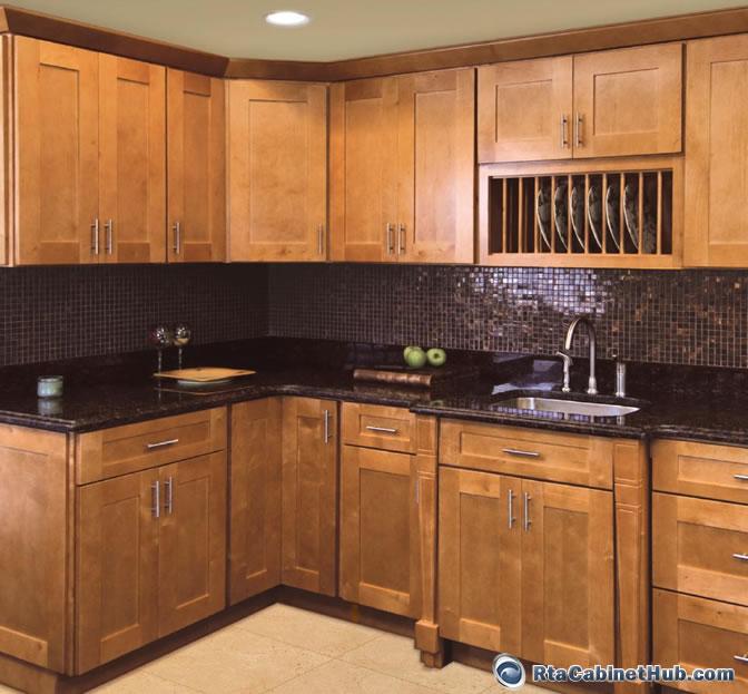 Cinnamon Oak Kitchen Cabinets   Shakertown RTA Cabinet Hub Shaker Honey  Cinnamon Shaker  Shakertown. Cinnamon Oak Kitchen Cabinets   Quicua com